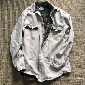 Eddie Bauer Flannel Lined Coat